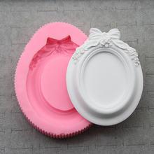 1 шт зеркальная рамка силиконовая форма искусственный торт сделай