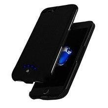 10000 мАч чехол для зарядного устройства для iPhone 6 6s 7 8 X чехол для аккумулятора телефона зарядное устройство для iPhone 6 6s 7 8 Plus внешний аккумулятор чехол