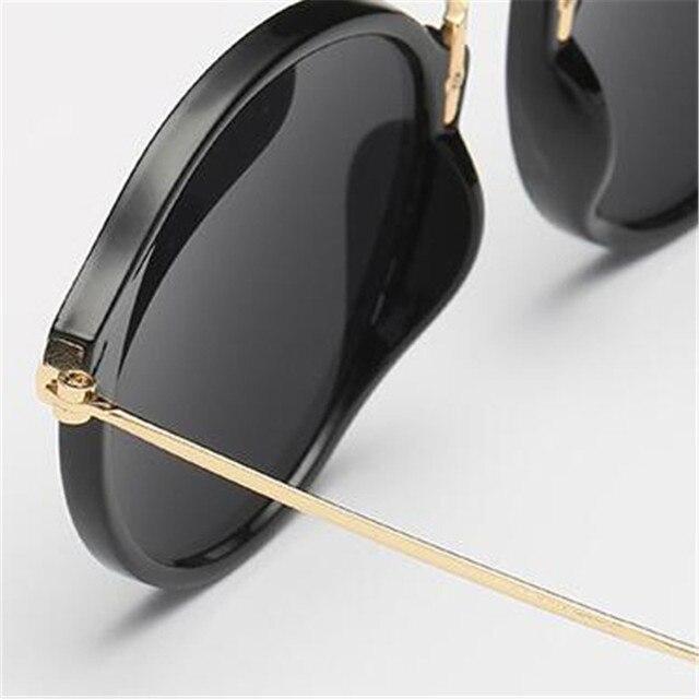 LeonLion-gafas De Sol redondas para hombre y mujer, lentes De Sol Retro De marca De diseñador, De moda, Vintage, De lujo 5