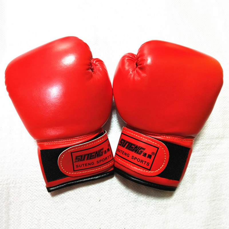 New Solid Color 3-10 Years Childrens Boxing Protective Gloves Sponge Sanda Fighting Training Gloves