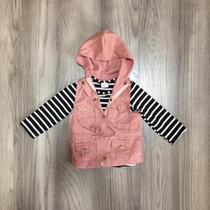 Image 5 - ฤดูใบไม้ร่วง/ฤดูหนาวเด็กทารกผ้าฝ้ายแขนยาวเสื้อยืดมัสตาร์ดมะกอกเสื้อกั๊กและ stripe Tops hoodie raglans เสื้อผ้าเด็กเสื้อ