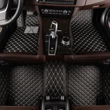 цена на HLFNTF Custom car floor mats For volvo all model c30 c70 s40 s60 s60l s80 s80l v40 v60 xc60 xc90 car accessories