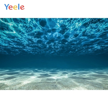 Yeele Sea Ocean Seabed Backdrop Newborn Baby Shower Kids Birthday Party Portrait Custom Photography Background For Photo Studio