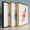 SS07 13 size available aluminium alloy wall hanging photo frame & picture frame no plank and no Plexi glass no picture