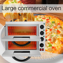 3200W Commercial Multifunction egg tart Pizza oven Double layer High capacity Pizza oven stainless steel Baking Electric oven