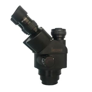 Image 2 - 3.5X 90X لحام مجهر ستيريو ثلاثي العينيات + SMD 38MP HDMI كاميرا فيديو USB رقمية + LCD 8 بوصة PCB مراقب + 144 Led أضواء