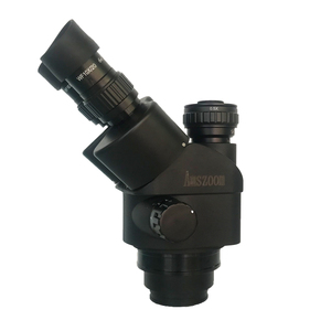 Image 2 - 3.5X 90X lehimleme trinoküler stereo mikroskop + SMD 38MP HDMI dijital USB Video kamera + LCD 8 inç PCB monitör + 144 Led ışıkları