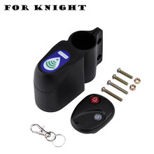 Cycling Security Lock Wireless Remote Control Anti-Theft Bike Lock Vibration Alarm Alerter Bell Bicycle Lock Bicycle Accessories