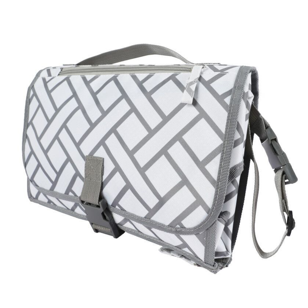 Large Capacity Zippered Detachable Travel Foldable Portable Home Hygienic Outdoor Infant Diaper Changing Pad Clean Baby Care