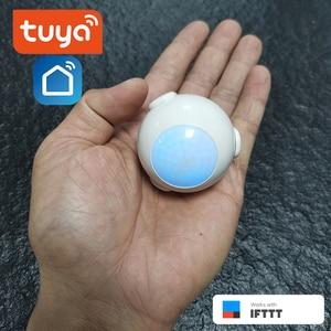Image 1 - بطاريات معمرة ذكية تعمل بالطاقة واي فاي تويا PIR محس حركة كاشف نظام إنذار المنزل العمل مع IFTTT