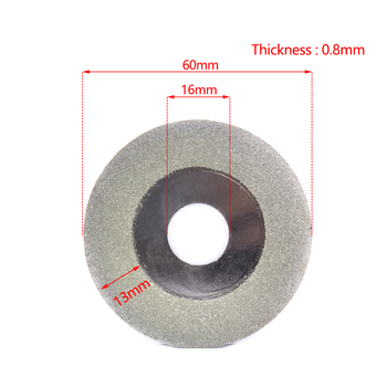 цена на 2-50Pac 60*16*0.8mm Diamond Cutting Grinding Disc Polishing Blade For Angle Grinder for grinding and cutting jade