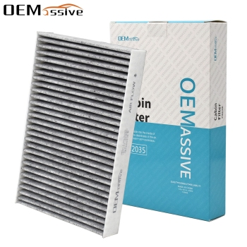 Car Accessories Pollen Cabin Air Filter 272772100R 27277-1KA4A 27277-00A26 For Nissan Juke F15 Pulsar C13 Renault Fluence image