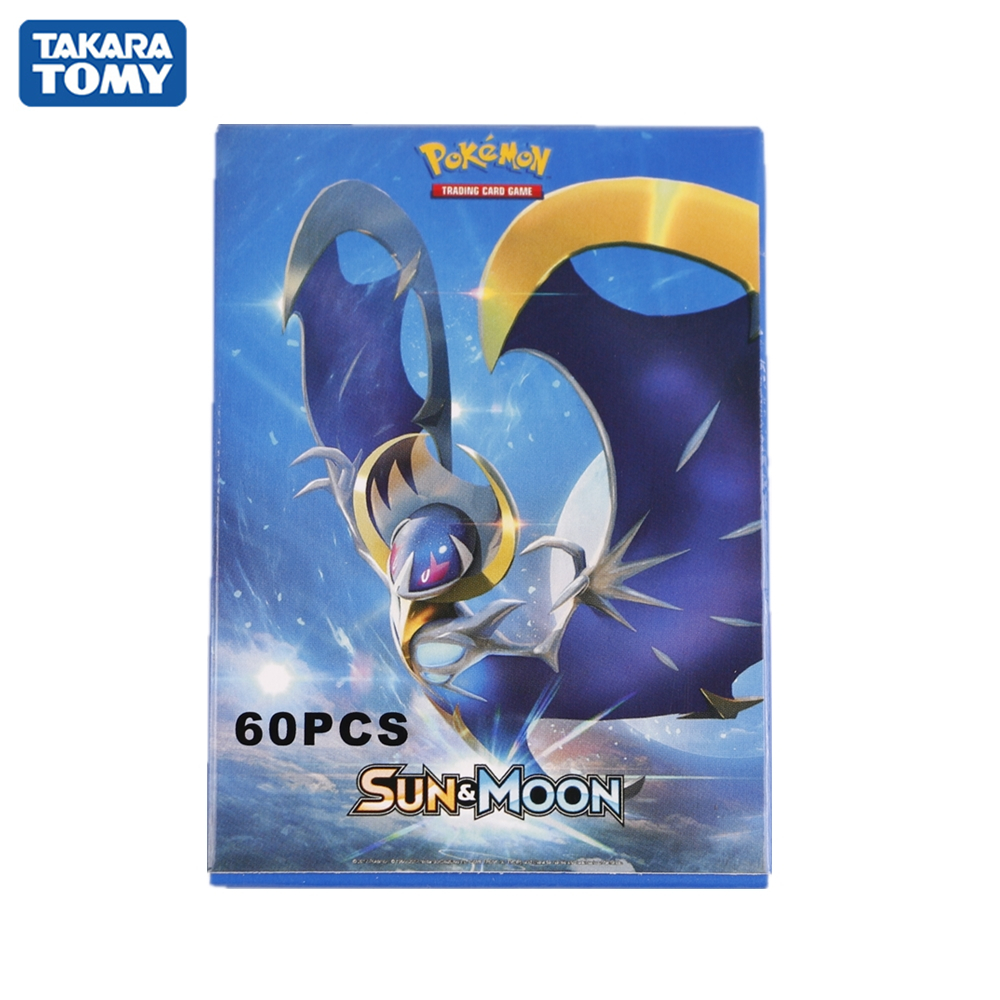 60pcs/box Pokemon Cards GX Series Newest French Version Collection Trading Game Card Kids Toys