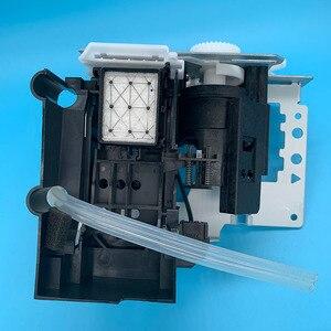 Image 5 - Głowica drukująca DX5 pompa atramentowa na bazie wody montaż stacja zamykająca do Epson 7800 7880C 7880 9880 9880C 9800 jednostka czyszcząca pompy