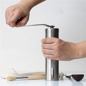 Image 5 - Przenośny szlifierka ze stali nierdzewnej domowy ekspres do kawy ręczna młynek do pieprzu młynek do kawy domowy młynek do kuchni narzędzia
