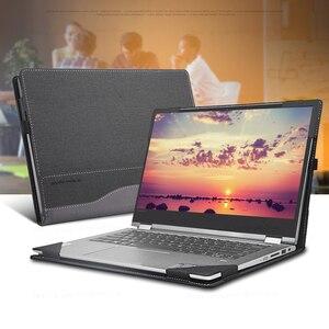Чехол для ноутбука Lenovo Ideapad C340, 14 дюймов, рукава для ноутбука Lenovo IdeaPad, унисекс, из искусственной кожи, защитный чехол в подарок