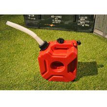 Прямая поставка и мотоцикл 3L портативный канистра газа антистатические пластиковые автомобильный топливный бак 11 октября