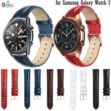 Leather Replacement Watch Strap Band for Samsung Galaxy Watch 3 45mm 41mm Bracelet band For Huawei watch GT 2 42mm 46 watchbands