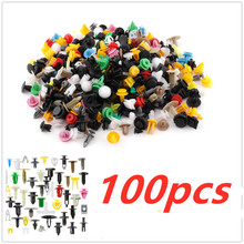 100pcs Universal Mixed Clips Car-styling Auto accessories For Ford Focus MK 3 For Mondeo MK4 C-max Fiesta MK 5