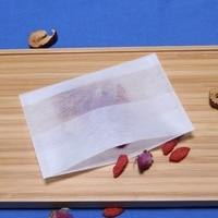 500 Pcs/Umwelt Freundliche Natürliche Mais Fiber Folding Tee Tasche Biologisch Abbaubar Tee Filter Kräutertee Filter Tasche 7X10 Cm-in Einweg-Teebeutel aus Heim und Garten bei