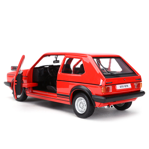 Image 4 - Bburago 1:24 1979 جولف MK1 GTI هوت هاتش ثابت يموت يلقي المركبات تحصيل نموذج سيارات لعب