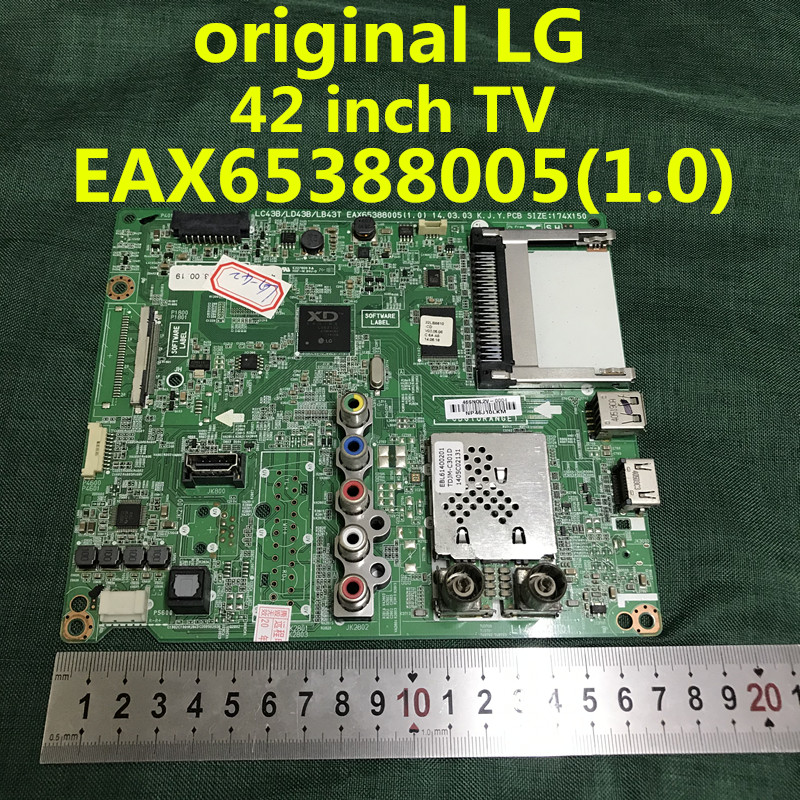 Original for LG 42LB5670-CR  42LB561T  42 inch TV  mainboard EAX65388005 1 0   screen  LC420DUE FG  A3   100percent test Free shipping
