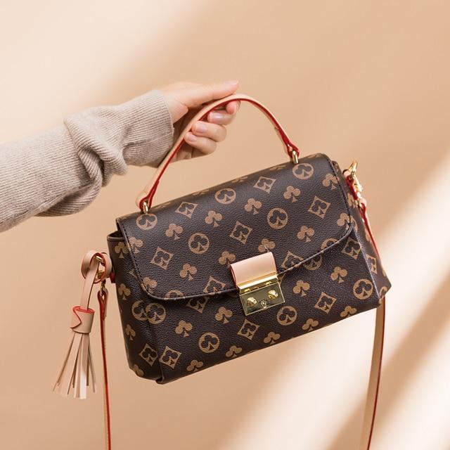 Luxury Fashion Printed  Shoulder Bag  5