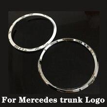 Trunk กล่องหางโลโก้ป้ายสัญลักษณ์เครื่องราชอิสริยาภรณ์สำหรับ Mercedes Benz A B C E Class W205 W212 W176 W246 GLA x156 CLA C117 ML W166 GLK X204