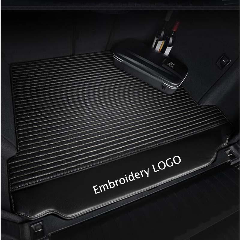 Car Trunk Mats Car Styling Carpet For Mercedes Benz W203 W204 W205 W201 W202 AMG C43 C63 C200 C220