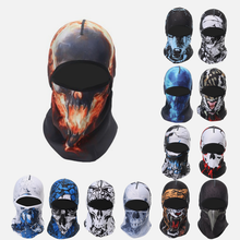 2020 COOL SKULL Face Shield Cycling Headgear Outdoor Sports Riding Scarf Baff Face Mask Bike Headband Hat Bandana Bland on Top