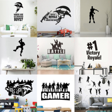 Game Wall Sticker For Kid Room Mural Quote Game Room Decal Bedroom Playroom Home Decoration Poster Gamer Stickers