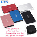 オリジナル KESU 2.5 インチ外部ハードドライブのストレージ 320 グラム 500 グラム USB3.0 1 テラバイト 2 テラバイト 750 グラム HDD ポータブル外部 HD ハードディスクカスタムロゴ