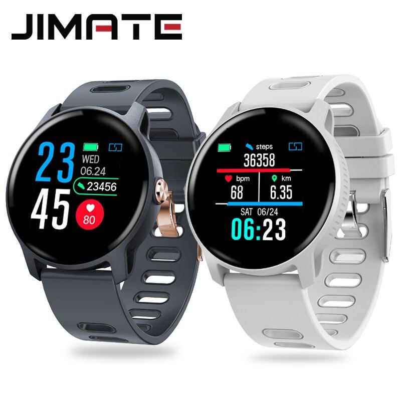 Man women smart bracelet heart rate blood pressure wristband step counter pedometer fitness waterproof activity tracker watches