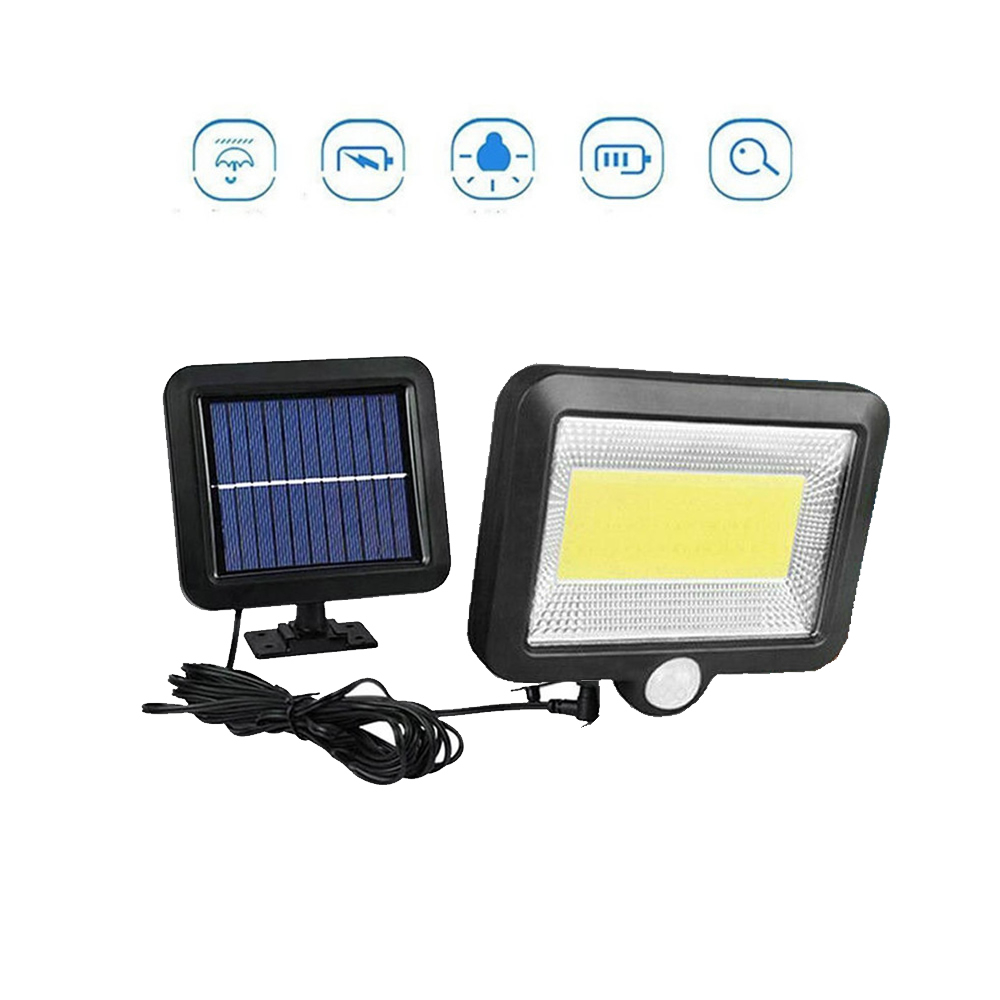 Solar Panel Power Solar Light Led Steps Lamp Sensor Light Waterproof Security Outdoor Stair Step Patio Yard Garden Wall Lamp Spl