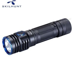 Image 3 - Skilhunt lanterna m300 xhp35, alta potência 2000 lúmens edc edição usb magnético recarregável à prova d água led
