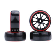 4 stks/set 1/10 Drift Autobanden Hard Tyre voor Traxxas Tamiya HPI Kyosho On-Road Drifting Auto(China)
