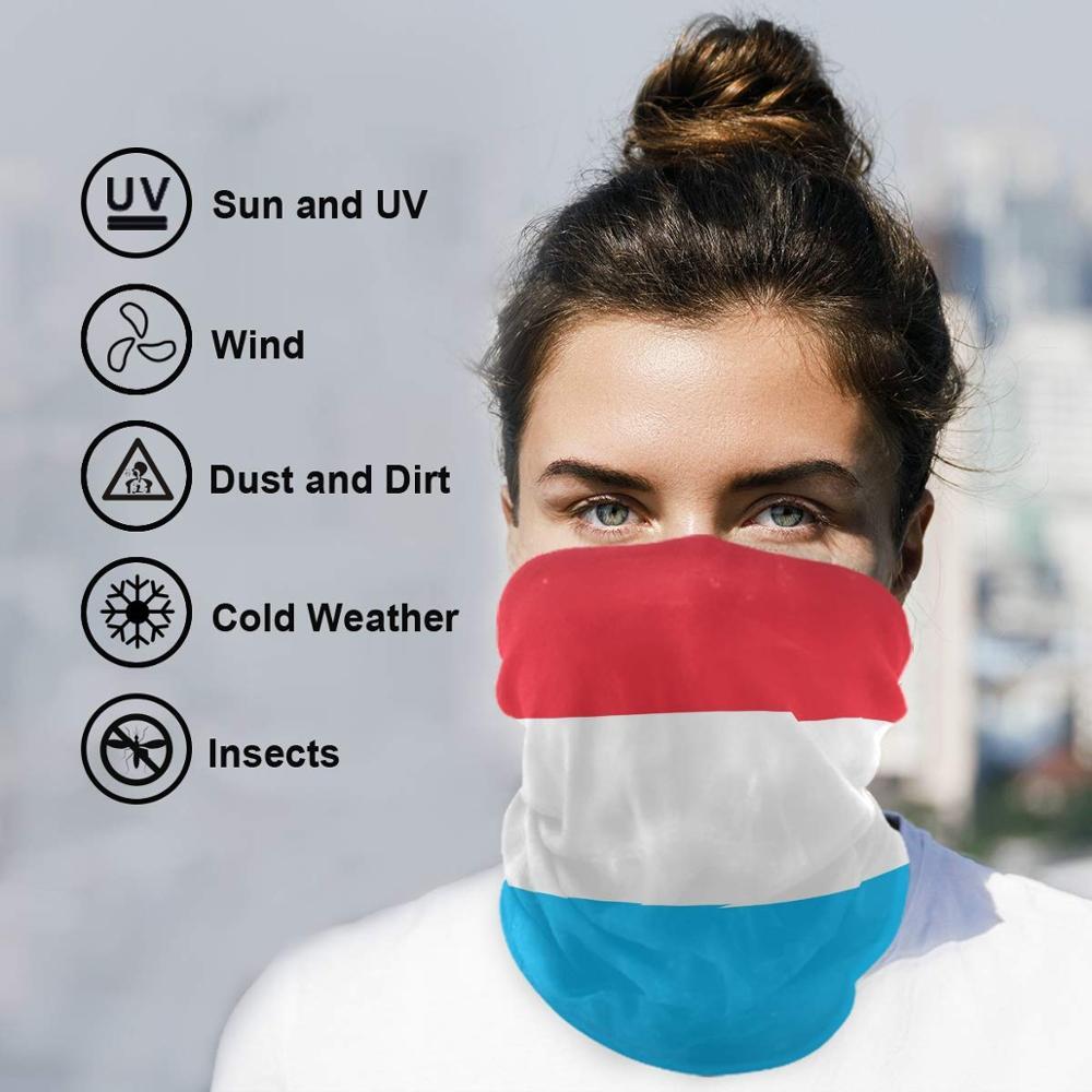 Headwear Headband Bright Color Abstract Head Scarf Wrap Sweatband Sport Headscarves For Men Women