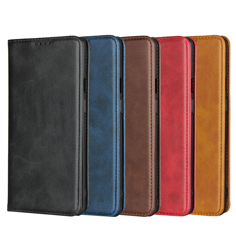 Luxury Vintage Leather for <font><b>OnePlus</b></font> 8 Pro <font><b>Case</b></font> Magnetic Cowhide Skin Flip <font><b>Wallet</b></font> Luxury <font><b>Case</b></font> for One Plus 8 7 <font><b>6</b></font> 7T 6T Pro Fundas image