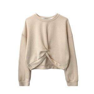 Модный женский тонкий свитер с круглым вырезом, пуловер с длинными рукавами, новинка 2020