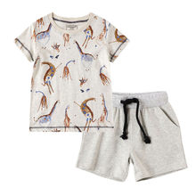 SAGACE Baby Clothing Sets Summer Boy Rompers Sets Infant Boy T-shirts+Casual Shorts Pants Outfits Sets Tracksuit 2-8Y New(China)