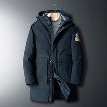 Padded-Jacket Parka-Coat Men's Oversize Black 7XL Winter Keep-Warm Brand 8XL 6XL Thick