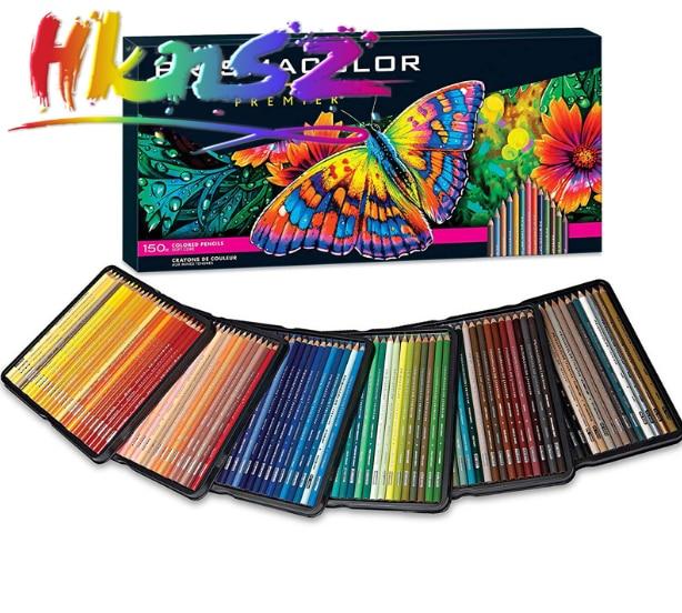 1 stücke neue 150 farbe Prisma Premier Weich Kern Farbige Bleistifte 150 zählen farben Prisma Premier Weich Kern Farbige Bleistifte