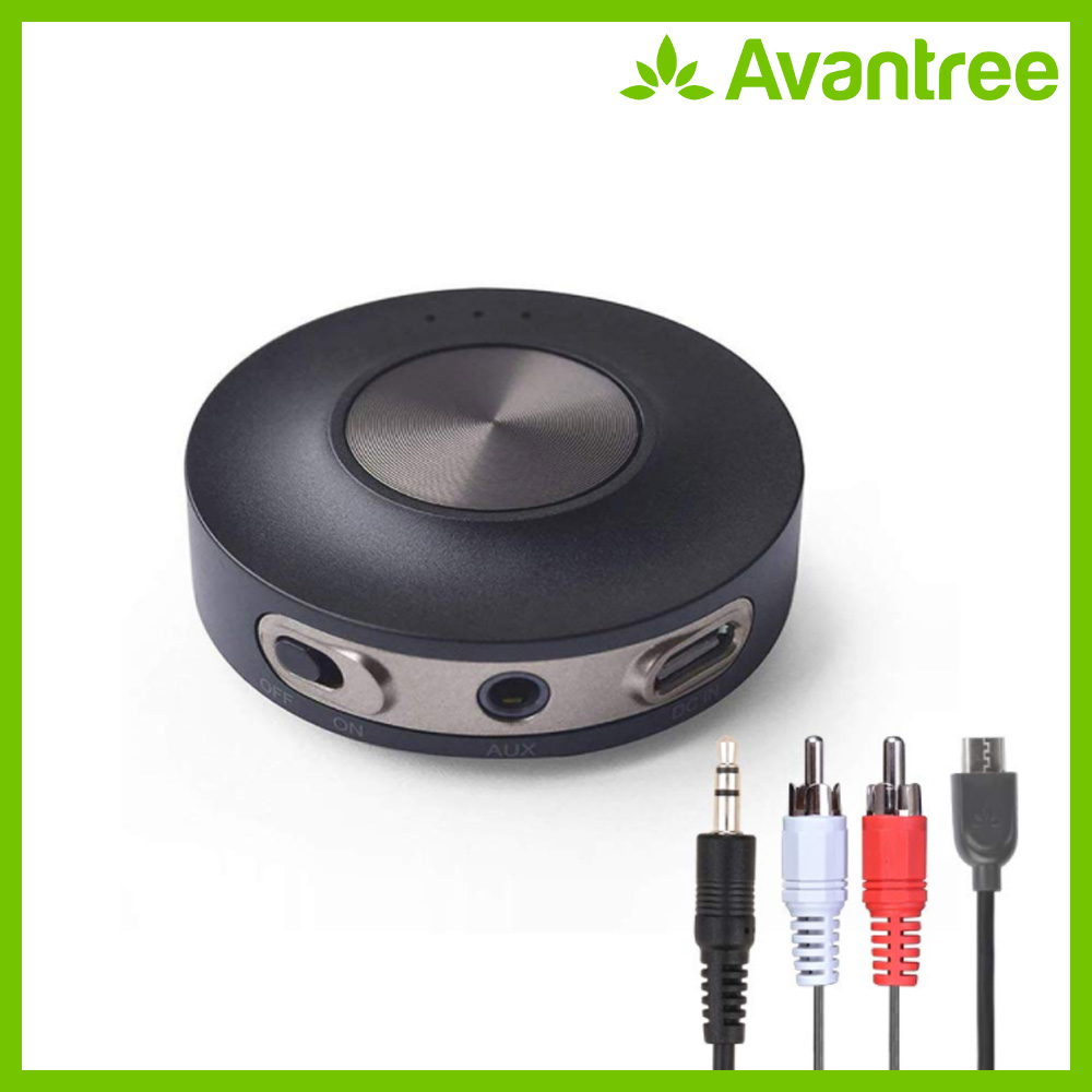 Avantree AptX LL Bluetooth 4.2 Transmitter For TV PC (3.5mm, RCA, Computer USB Digital Audio) Dual Link Wireless Audio Adapter