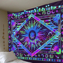 Colorful Tapestry Wall Tapestry Wall Hanging Psychedelic Tapestry Celestial Tapestry Decor for Bedroom Living Room