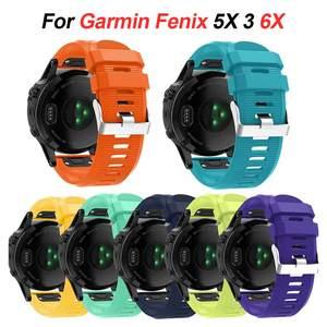 Image 2 - for QuickFit Band Garmin Fenix 6 6X 6S /5S 5X 5 Plus 3HR Silicone Strap Forerunner 945 935/Instinct Watchband 20mm 22mm 26mm
