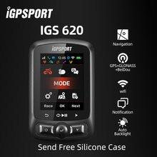 Igpsport igs620 bicicleta sem fio notificação telefone velocímetro ant + computador bluetooth4.0 wifi gps à prova dwaterproof água acessórios