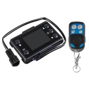 Image 2 - LCD Parkplatz Heizung Monitor Digital Schalter Auto Heizung Gerät Controller Universal für Auto Air Heizung W/4 Taste Remote control