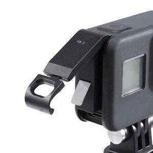 Image 2 - Заряжаемая крышка аккумуляторного отсека, крышка аккумуляторного отсека для камеры GoPro Hero Black 8 S port s, съемный адаптер для зарядного порта Type C
