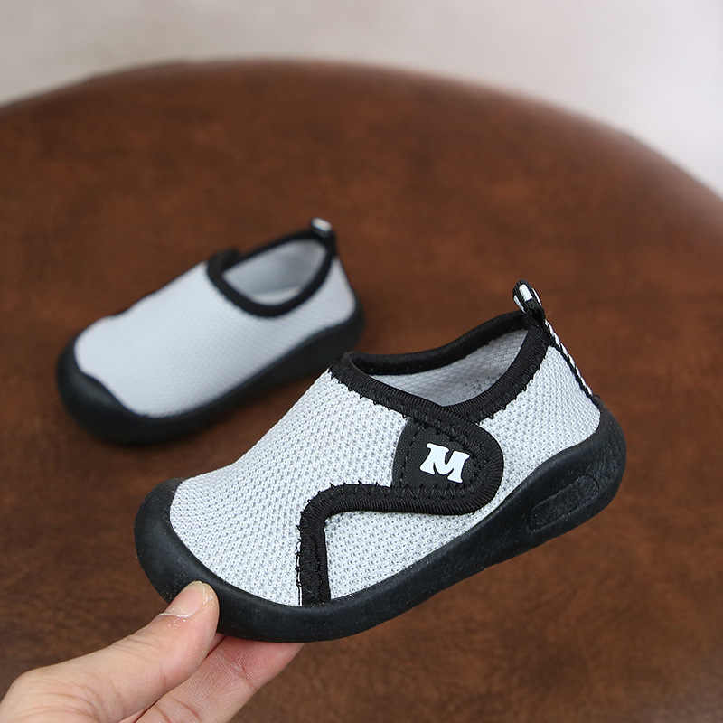 Newborn Baby Boys Sneaker Shoes Fashion Summer Soft Crib Shoes Children  Boys Casual First Walker Anti Slip Shoes Soft Sole
