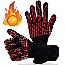 1 шт. Прихватки для выпечки, перчатки для барбекю, домашние силиконовые перчатки, высокотемпературные, анти-обжимные, изоляция на 350/800 градусов, барбекю